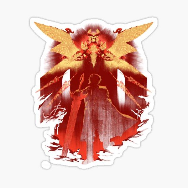 Red Hunter Sticker