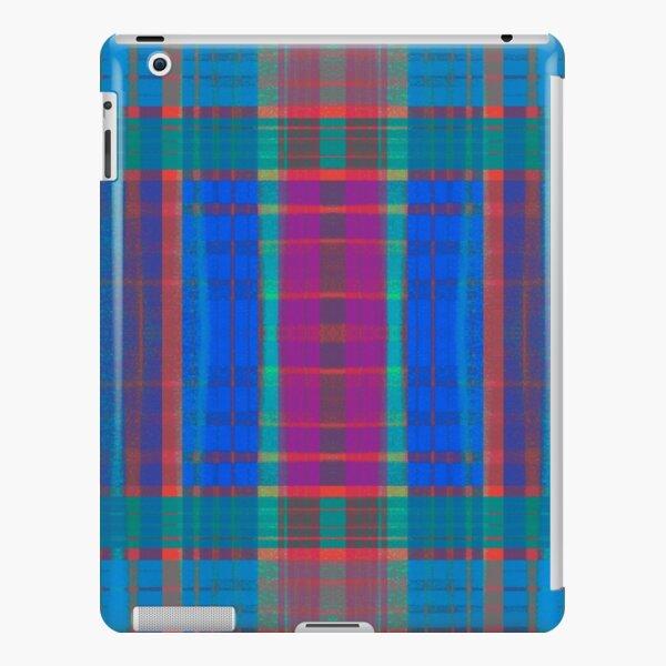 Teal Plaid iPad Snap Case