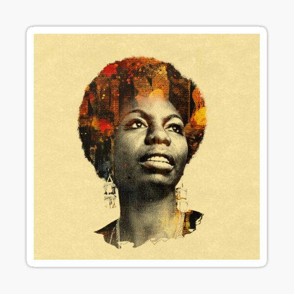 Nina Simone Sticker