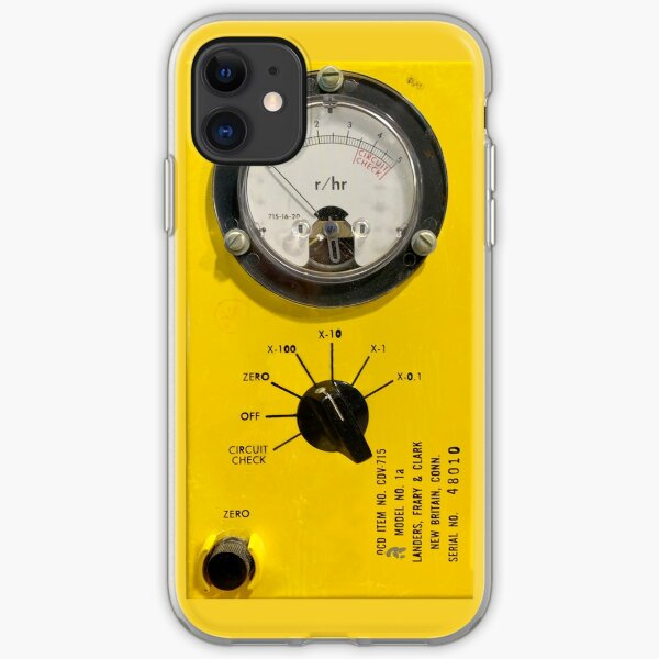 Radioactive Geiger Counter iPhone Soft Case