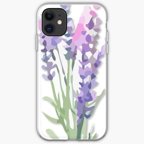 Lavendar iPhone Soft Case