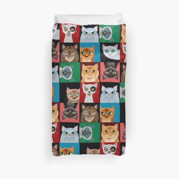 Pussies Galore! Duvet Cover
