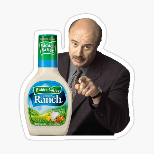 Dr. Phil - You're Going to the Ranch Sticker
