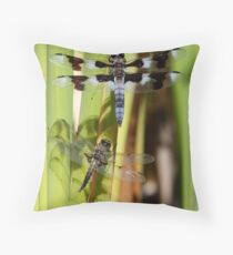 Skimmers are Great With Four Spots or Eight Throw Pillow