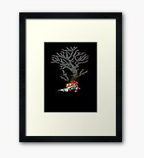 Crono and Marle Framed Print