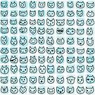 100 cats by EmilyBodnar