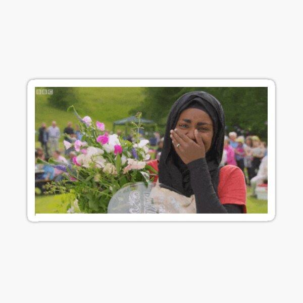 Nadiya Wins GBBO Sticker