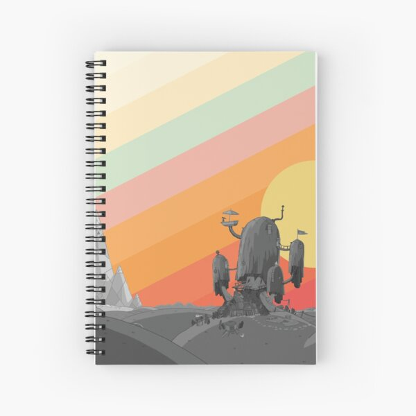 Land Of Ooo (Adventure Time) Spiral Notebook