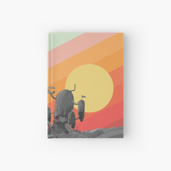 Land Of Ooo (Adventure Time) Hardcover Journal