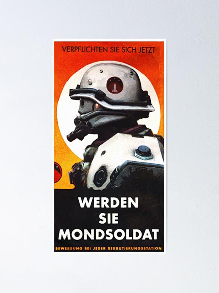 Alternate view of Mondsoldaten Poster