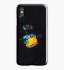 Wall-E in Space! iPhone Case/Skin