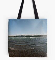 Goat Island pano Tote Bag