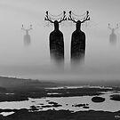 Caribou Giants by Nalakwsis