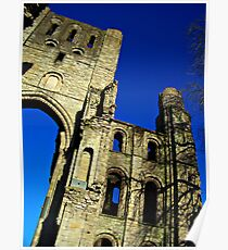 Kelso Abbey In Scotland. Poster