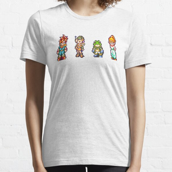 Chrono, Lucca, Frog, Marle Essential T-Shirt