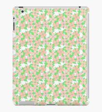 Vinilo o funda para iPad Década de 1960 Flores florales en colores pastel del cornejo de la vendimia imitación de la acuarela de la impresión suave pintada