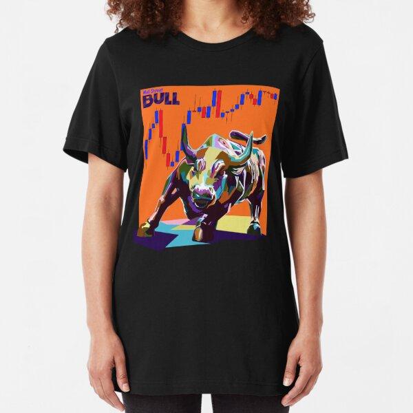 Bull of Wall Street Slim Fit T-Shirt