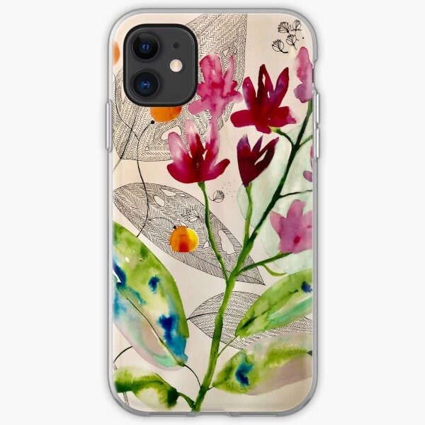 botanical composition iPhone Soft Case