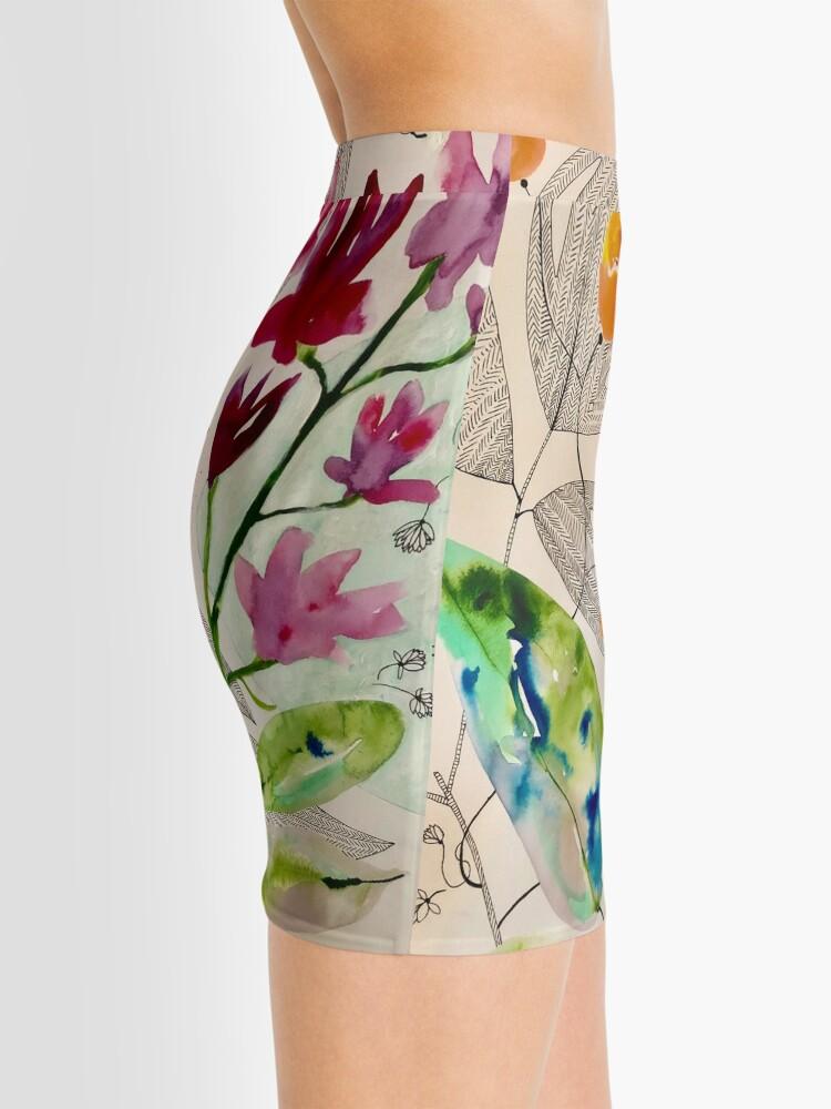 Alternate view of botanical composition Mini Skirt