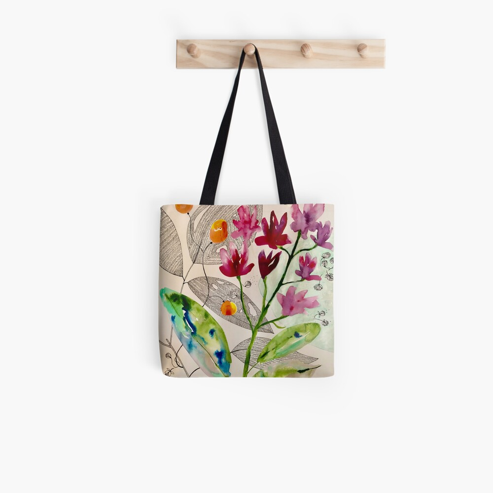 botanical composition Tote Bag