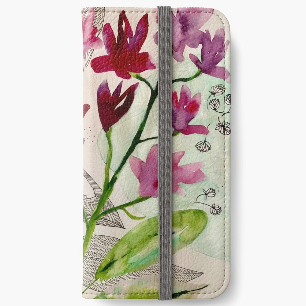 botanical composition iPhone Wallet