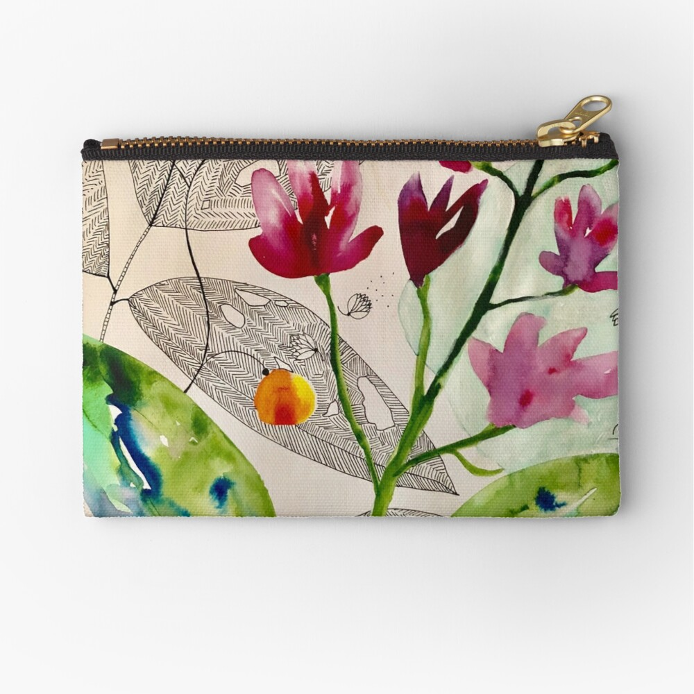 botanical composition Zipper Pouch