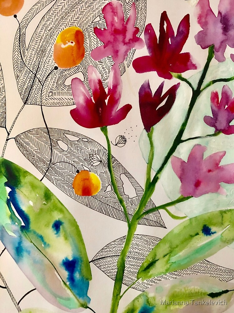 botanical composition by mariannat