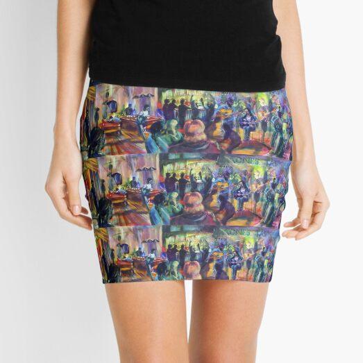 Agnes Tavern - Jam session Mini Skirt