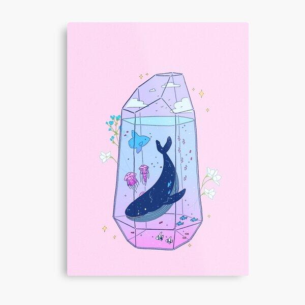 Celestial Aquarium Metal Print