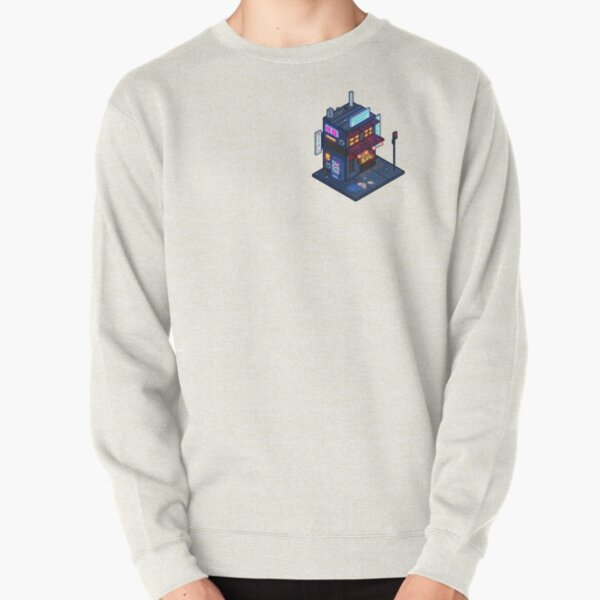 Cyberpunk Juusu Pullover Sweatshirt