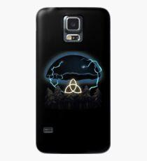 Dunkel Hülle & Klebefolie für Samsung Galaxy