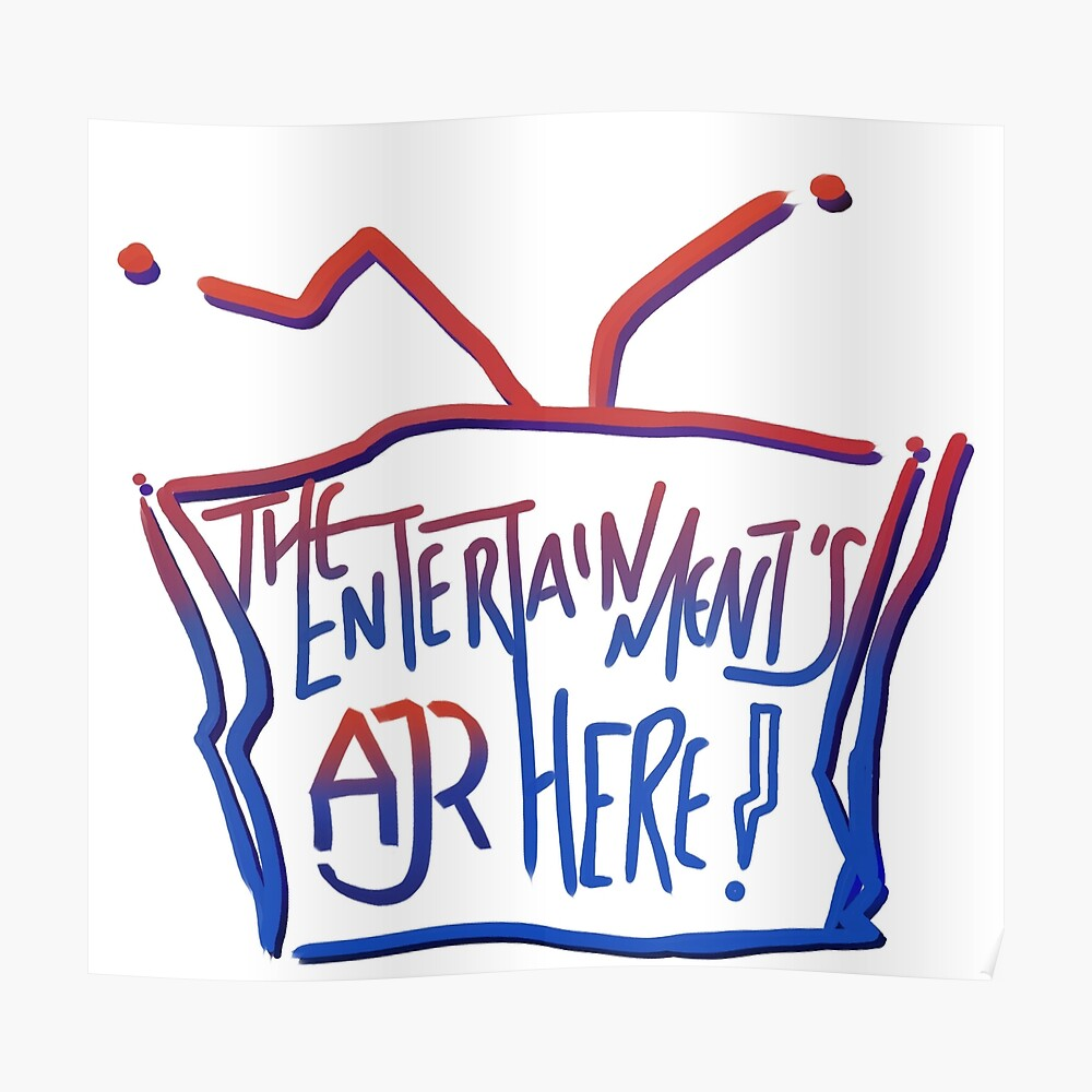 The Entertainment S Here Ajr Sticker By Necto Clock Redbubble Ajr dear winter letter sweatshirts & hoodies. redbubble
