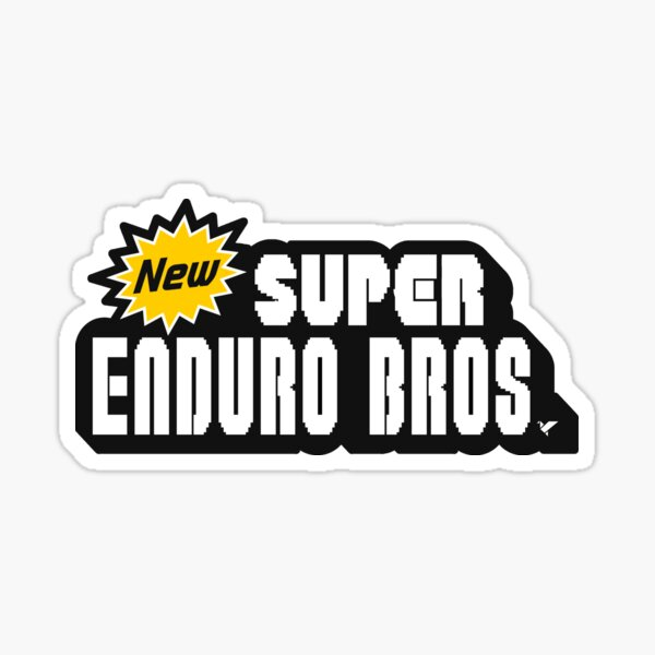 Autocollant SUPER ENDURO BROS Sticker