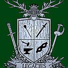 Silver Legacies Crest [Green] by LegaciesLARP