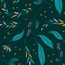 Twilight Wildflowers by Lindsay Hook