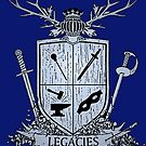 Silver Legacies Crest [Blue] by LegaciesLARP