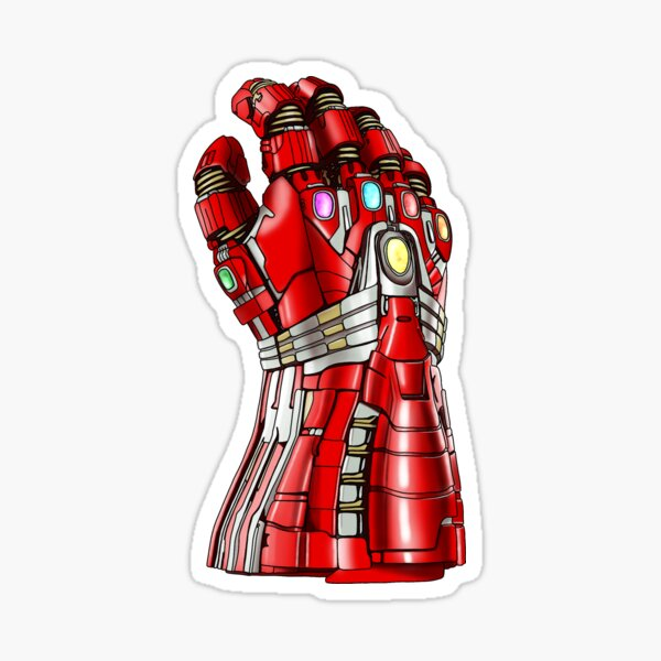 The Iron Gauntlet Sticker