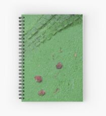 Wedding crocodile Spiral Notebook