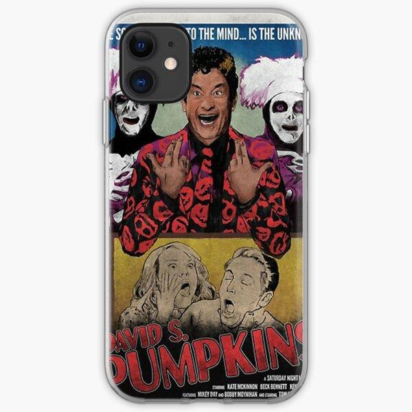 DAVID S PUMPKINS VINTAGE STYLE POSTER iPhone Soft Case
