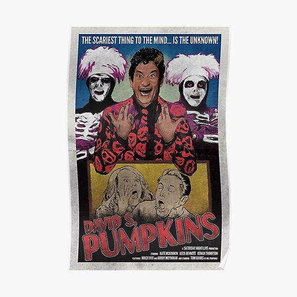DAVID S PUMPKINS VINTAGE STYLE POSTER Poster