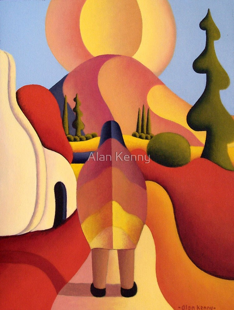 Pilgrimage to the sacred mountain by Alan Kenny
