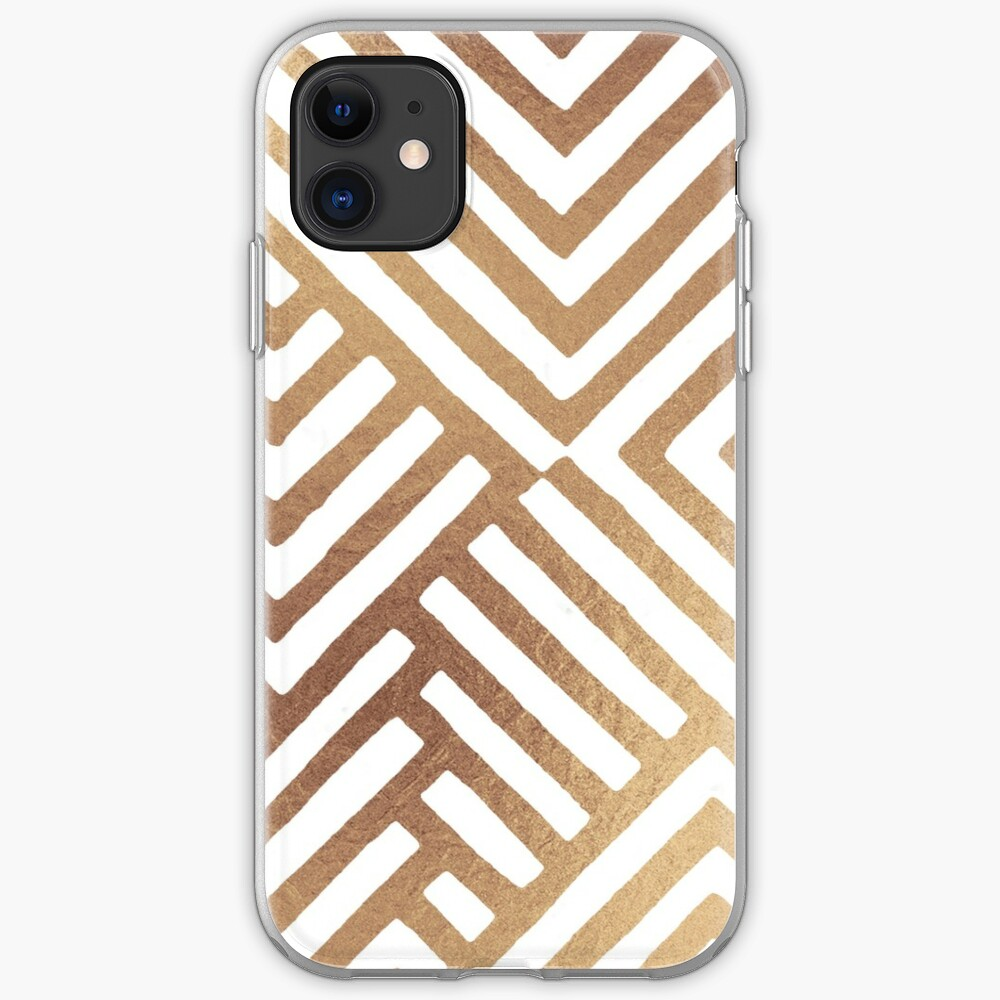 Geometric DESMOS-Goldy iPhone Soft Case