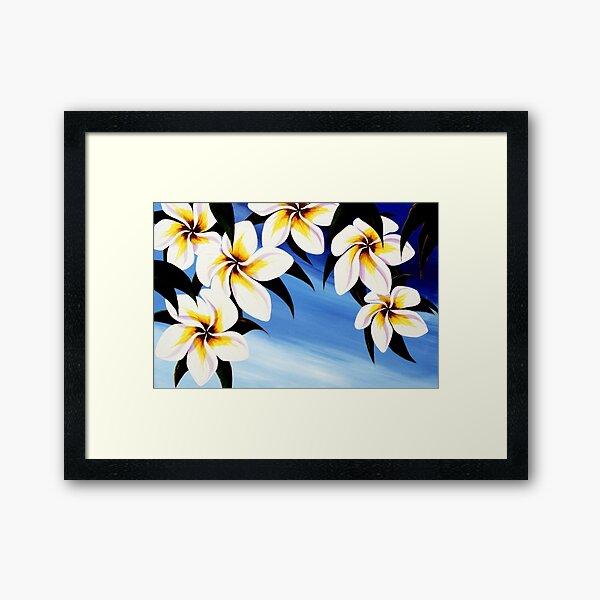 bloomin' frangi's Framed Art Print