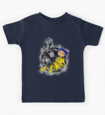 Twitchy Witchy Mädchen Kinder T-Shirt