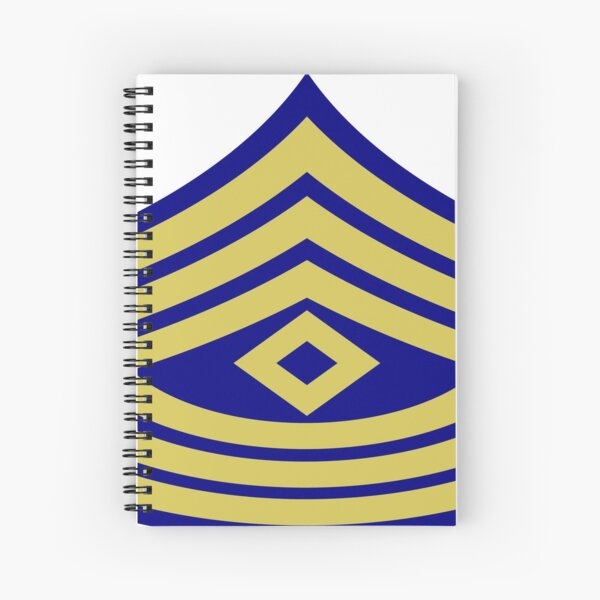 Yellow, high-visibility clothing, patriotism, symbol, design, illustration, rows, striped Spiral Notebook