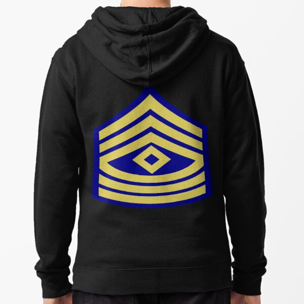 Yellow, high-visibility clothing, patriotism, symbol, design, illustration, rows, striped Zipped Hoodie