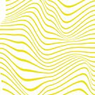 #Yellow #Waves, #Pattern, #abstract, design, art, curve, wave, bright, striped by znamenski