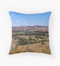 Near Gundagai, NSW, Australia Throw Pillow
