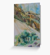 Bright Angel Trail of the Grand Canyon Greeting Card