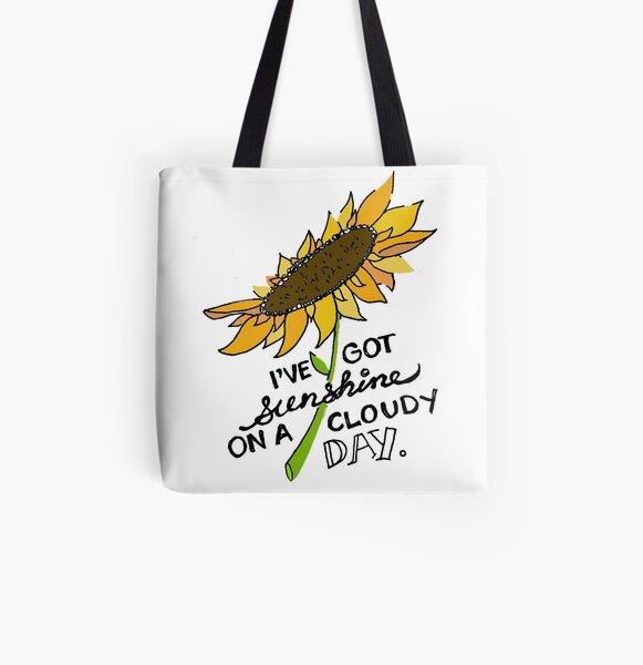 I've Got Sunshine All Over Print Tote Bag